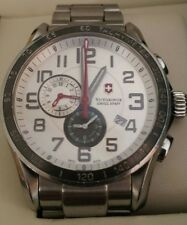 VICTORINOX SWISS  ARMY Men's 241282  CHRONOGRAPH CLASSIC XLS WATCH QUARTZ ALARM