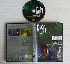DVD MUSIQUE KORN LIVE AT MONTREUX 2004