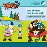 WICKIE UND DIE STARKEN MÄNNER  - FOLGE 13-WER ANDEREN EINE GRUBE GRÄBT  CD  NEU