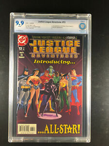 Justice League Adventures 13 CBCS 9.9 DC 01/2003 1st app All-Star Not 9.8