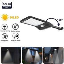 Waterproof LED Solar Wall Street Light Outdoor PIR Motion Sensor Garden Lamp