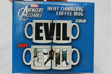 Marvel Avengers Collectible HEAT CHANGING Coffee Tea Mug Cup Birthday Gift Box