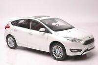 Ford Focus 2015 car model in scale 1:18 white