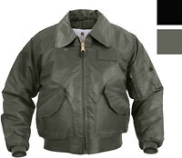 Air Force Flight Jacket Military CWU-45P Tactical Flyers Pilot Coat Bomber