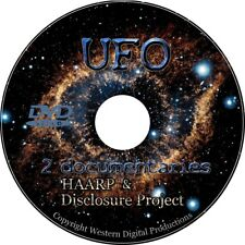 DVD UFO Disclosure Project Unexplained Sightings Aliens Government Conspiracy