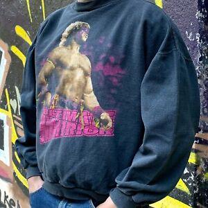Rare Vintage Faded Ultimate Warrior Sweatshirt