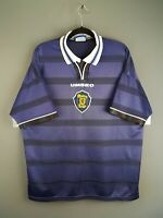 4.2/5 Socotland soccer jersey 2XL 1998 2000 home shirt football Umbro ig93