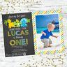 DINOSAUR 1ST BIRTHDAY PARTY SUPPLIES FIRST BIRTHDAY PARTY INVITATIONS INVITES