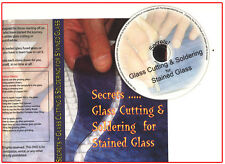 SECRETS -DVD GLASS CUTTING AND SOLDERING FOR STAINED GLASS WATCH THE CLIP!