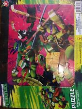 Nickelodeon Teenage Mutant Ninja Turtles 16 Pc Puzzle and 13 Sticker Play Set