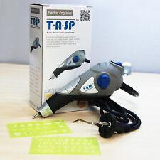 Carbide Steel Tip 13W Electric Engraving Pen Use Metal Wood Plastic Glass, TASP