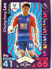 Match Attax 2016/17 Premier League - #081 Chung-Yong Lee - Crystal Palace