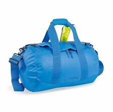 NEW TATONKA BARREL BAG SMALL WATER RESISTANT PADDED LOCKABLE ZIPS BRIGHT BLUE