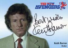 Avengers TV The New Avengers Keith Barron as Draker Autograph Card N-A6