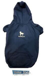 Lovewally Dog Pet Hoodie Sweatshirt Comfortable Navy Blue Jacket