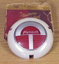 1941 Plymouth P12 Special Deluxe NOS MoPar Steering Wheel EMBLEM Ornament