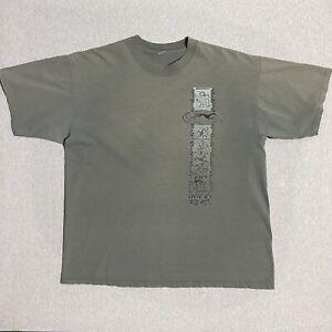 VTG 90s Faded 4000 B.C T Shirt Ancient Hieroglyphics Shirt tee XL Graphic Tee