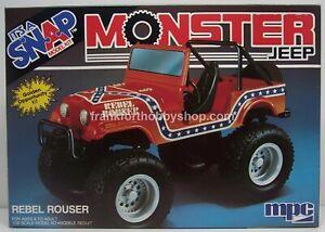 Ertl #6473 1/32 Monster Jeep Rebel Rouser snap kit new still in shrink  Very old