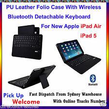 iPad Air Wireless Bluetooth Detachable Keyboard Case For iPad 5 iPad Air
