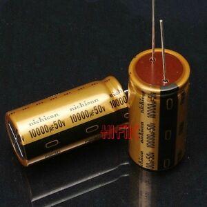 1PCS NICHICON MUSE FW 10000UF 50V Audio Capacitor