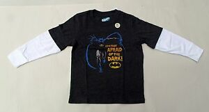 Batman Toddler Long Sleeve T-Shirt Sizes 2T 3T 4T 5T I'm Not Afraid of the Dark