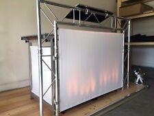 """Portabler DJ Tisch """"DJ Table Pro """"Showstand 2"""" Nutzfläche 150 x 60 cm"""