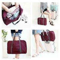 Portable Foldable Travel Storage Luggage Carry-on Big Hand Bags Duffle Shou K4O5
