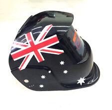 Pro Mask Shield Solar Auto Darkening Welding Helmet Arc Tig Mig Aussie Flag