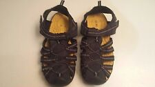Cherokee Blue/Yellow Sandals - Size 5 kids