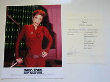 Nana Visitor 8x10 photo Star Trek Deep Space Nine Autographed