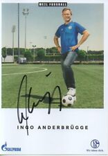 Autogramm - Ingo Anderbrügge (FC Schalke 04) - 2018/2019 - nicht im Kaufsatz