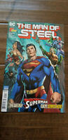 2019 SDCC WONDERCON DC SUPERMAN THE MAN OF STEEL FIRST ISSUE COMIC BOOK BENDIS