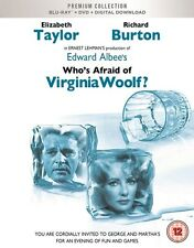 BLU-RAY WHO`S AFRAID OF VIRGINIA WOOLF! PREMIUM EXCLUSIVE EDITION NEW  STOCK