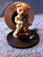 "NOS HAMILTON COLLECTION ELVIS BE MY TEDDY BEAR COLLECTION ""ELVIS GOLD"" FIGURE"
