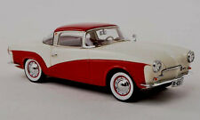 wonderful modelcar VW ROMETSCH LAWRENCE COUPE 1957 - red and white -  scale 1/43