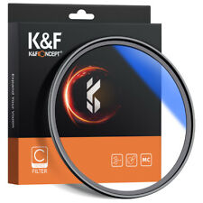 K&F Concept Len Filter 55/58/62/67/72/77/82mm Ultra Slim Mc UV Blue Multi-Coated