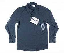 Blauer Dark Navy Long Sleeve Polyester Armorskin Base Shirt - XS - 8372 Police