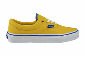 Vans Era (MLX) Polo Pique Lemon Chrome Canvas Schuhe gelb W3CEC3