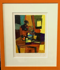MOULY  MARCEL  FRAMED  LITHOGRAPH