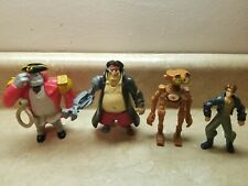 Treasure Planet Mcdonalds Disney Toy Figure Lot of 3 Figures B.E.N. Long John