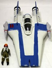 Hasbro Star Wars A-Wing Fighter Vehicle & Pilot Figure