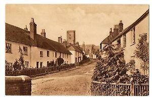 East Budleigh Village - Devon - Rare Old Original Frith's Postcard - Nice View