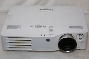 Panasonic PT-AX200E HD Home Cinema Projector 6000:1 2000lm Lens-Shift HDMI