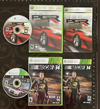 XBOX 360 Car Racing 2 Game Lot NASCAR '14 & PGR Project Gotham Racing 3 COMPLETE