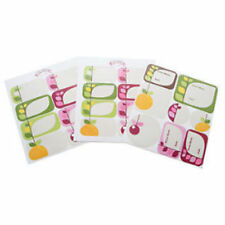 Jar Labels Individual Food Storage Containers