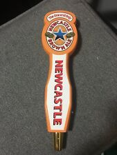 NEWCASTLE Beer Tap Handle Used Nice See Pics Fast Shipping