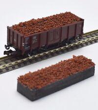 232 FLEISCHMANN Piste N chute de matières wagons type E 820513 8205 11, minerai, neuf dans sa boîte