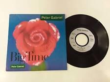 PETER GABRIEL BIG TIME - CURTAINS 7'' 45 GIRI 1987