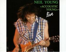 CD NEIL YOUNG	accoustic young live	1992 EX- (B1019)