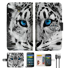 Leopard Wallet Case Cover For HUAWEI Y5 Y560-- A013
